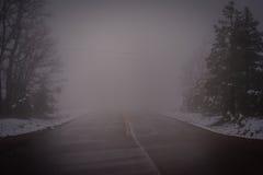 дорога переместила Стоковые Фотографии RF