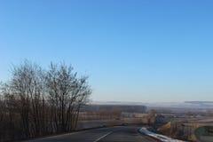 дорога природы к Стоковое Изображение RF