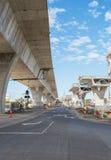 дорога реконструкции вниз Стоковое Изображение