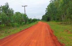 дорога сельская Стоковое Изображение RF