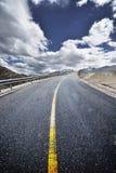 дорога Тибет Стоковая Фотография RF