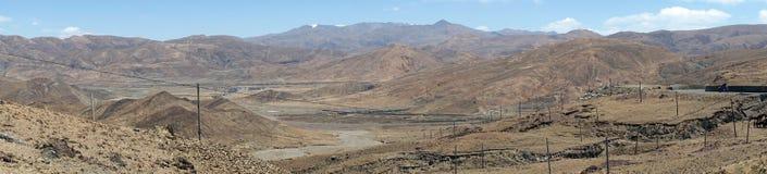 дорога Тибет Стоковое Изображение