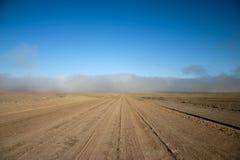 дорога тумана к стоковое изображение rf