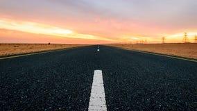 дорога удара Стоковые Изображения RF