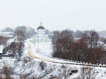 дорога церков к Стоковая Фотография