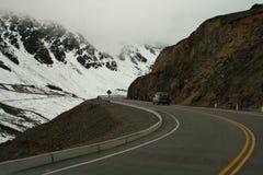 дорога andes Стоковая Фотография RF