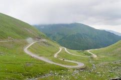 дорога transfagarasan Стоковое Фото