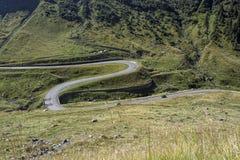 дорога transfagarasan Стоковое Изображение RF