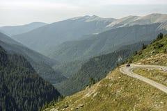 дорога transfagarasan Стоковая Фотография
