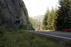 дорога transfagarasan Стоковые Фото