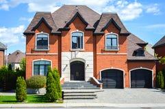 дорогие дома стоковое изображение rf