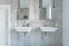 2 дорогих washbasins Стоковое Изображение