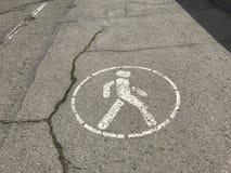дорожный знак, знак уличного движения, знак улицы Стоковая Фотография
