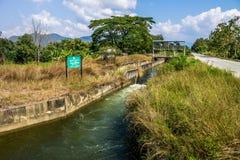 Оросительный канал Стоковое Изображение