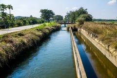 Оросительный канал Стоковая Фотография RF
