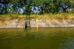 Оросительный канал Стоковое Изображение RF