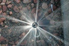 Орошенный гравий Стоковое Фото