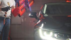 Оружие брызга с керамическим покрытием для покрывать автомобиль видеоматериал