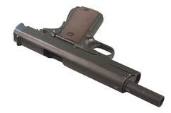 Оружие изолированное на белизне Стоковая Фотография