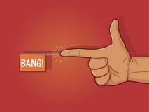 Оружие пальца Стоковая Фотография RF