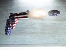 Оружие США иллюстрация вектора