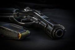 Оружие CZ 83 9mm стоковое изображение rf
