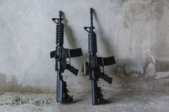 Оружие m16 Стоковые Изображения