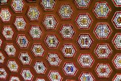 Оружия крыши в парламенте Оттавы стоковые изображения