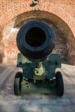 оружия armored пушки оборудования бочонка тяжелые воинские Стоковая Фотография