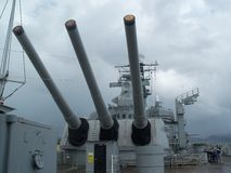 Оружи линкора Стоковые Фотографии RF