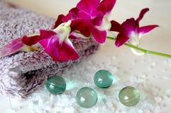 орхидея ванны Стоковое Фото