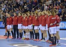 Орхус, турнир квалификации женщин олимпийский Стоковое Изображение