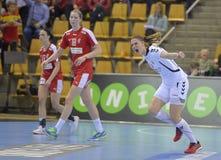 Орхус, турнир квалификации женщин олимпийский Стоковые Фотографии RF