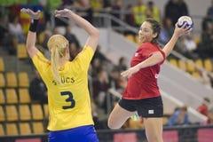 Орхус, турнир квалификации женщин олимпийский Стоковые Изображения