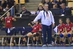 Орхус, турнир квалификации женщин олимпийский Стоковое Изображение RF