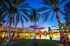 Орландо, городской пейзаж Флориды Стоковое Изображение