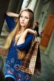 осадка девушки Стоковая Фотография RF