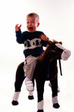 осадка мальчика Стоковые Фотографии RF