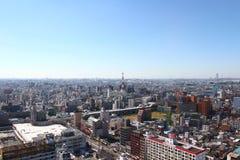 Осака, городской пейзаж Японии Стоковые Изображения