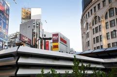 ОСАКА - 23-ЬЕ ОКТЯБРЯ: Dotonbori 23-его октября 2012 в Осака, Японии. Стоковые Фотографии RF
