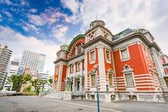 Осака Япония общественный Hall Стоковое фото RF