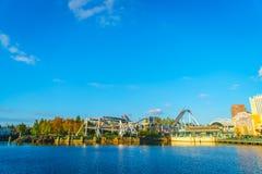 ОСАКА, ЯПОНИЯ - 1-ое декабря 2015: Студии Universal Япония (USJ) Стоковая Фотография RF