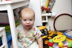 осадка младенца Стоковые Фото