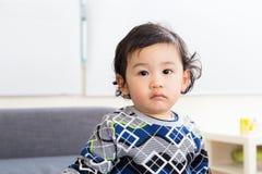 Осадка чувства младенца Азии Стоковое Изображение