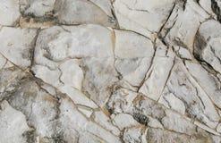 осадочная порода белизны Известк-глины Стоковое Изображение RF