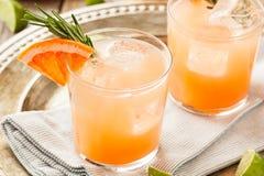 Освежая грейпфрут и текила Palomas Стоковое Изображение