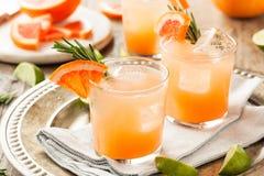 Освежая грейпфрут и текила Palomas Стоковые Изображения