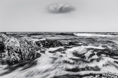 Освежая день на море Стоковые Изображения