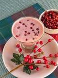 Освежая питье гранатового дерева зимних отдыхов Стоковые Изображения