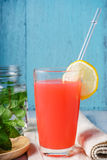 Освежая питье лета с пуншем плодоовощ Стоковые Изображения RF